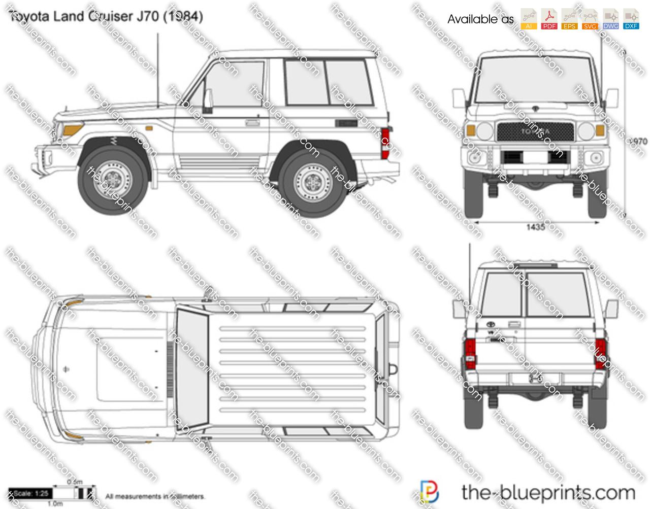 Toyota Land Cruiser J70 SWB