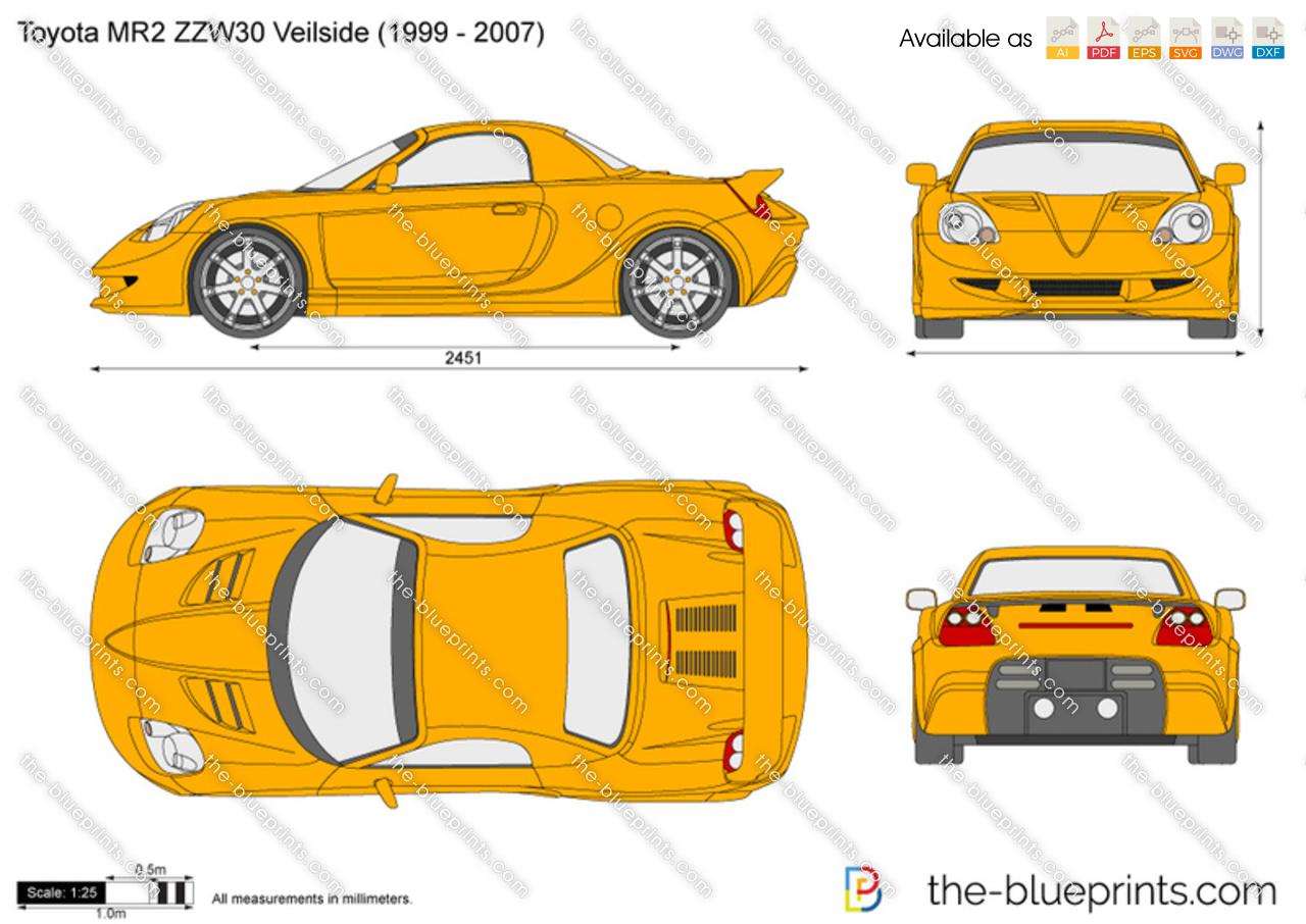 Toyota MR2 ZZW30 Veilside