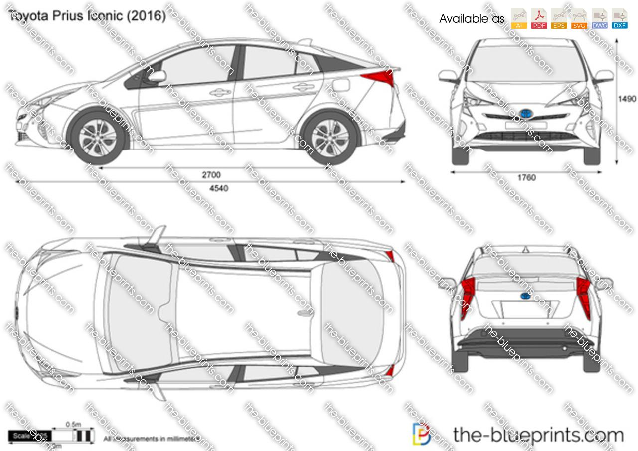 Toyota Prius Iconic 2015