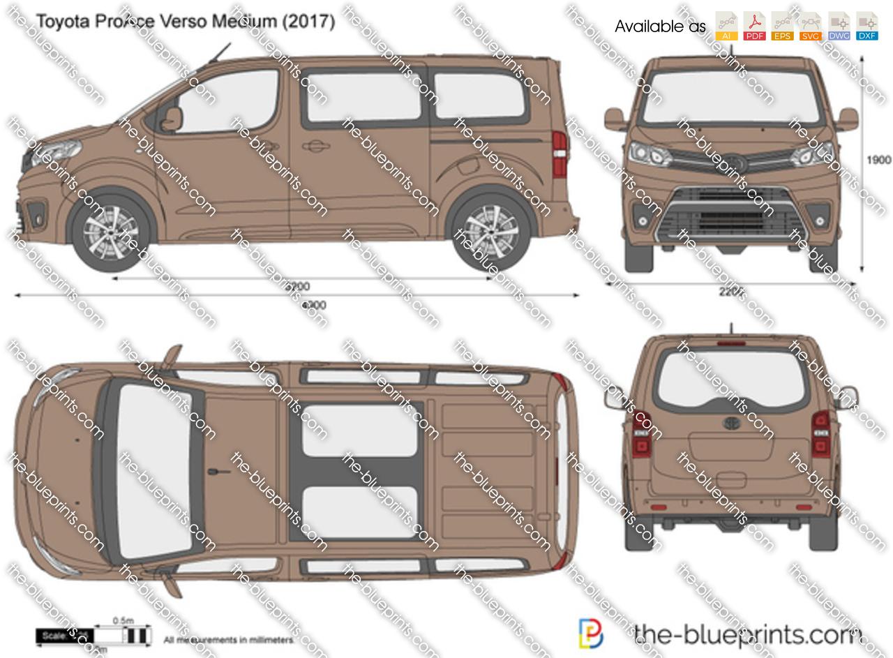 Toyota ProAce Verso Medium
