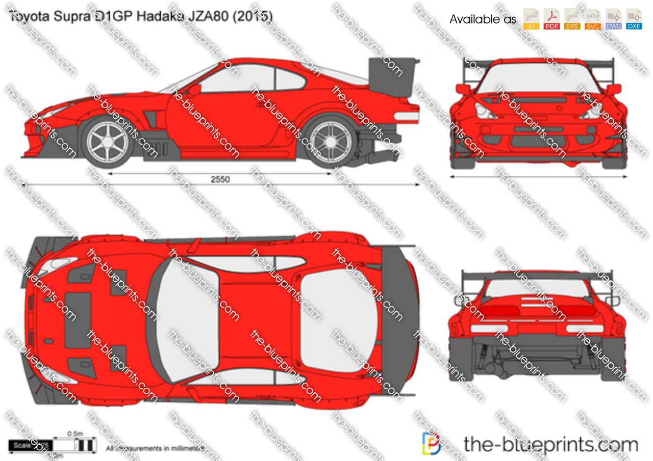 Toyota Supra D1GP Hadaka JZA80