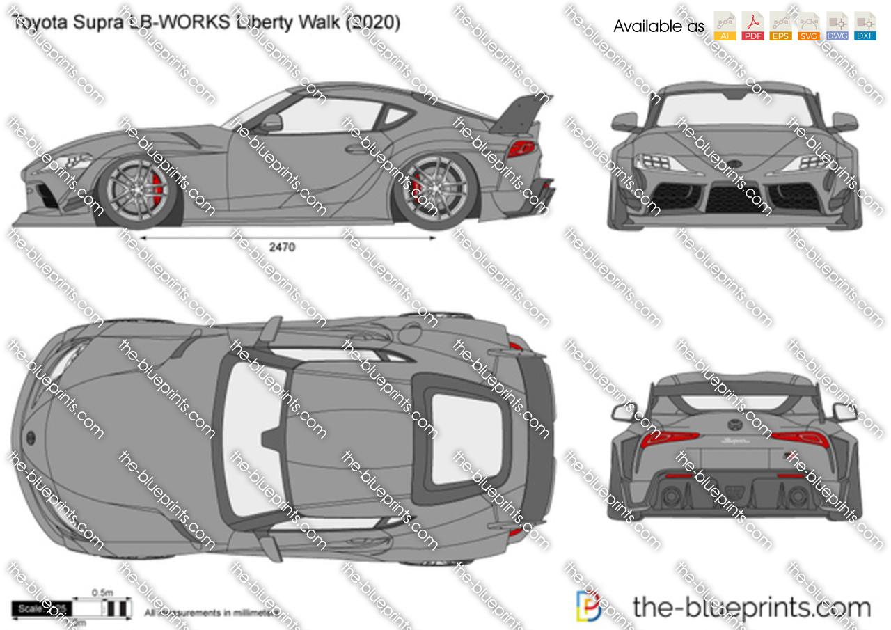 Toyota Supra LB-WORKS Liberty Walk
