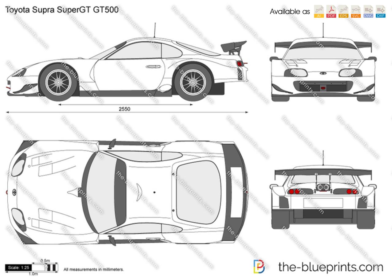 Toyota Supra SuperGT GT500