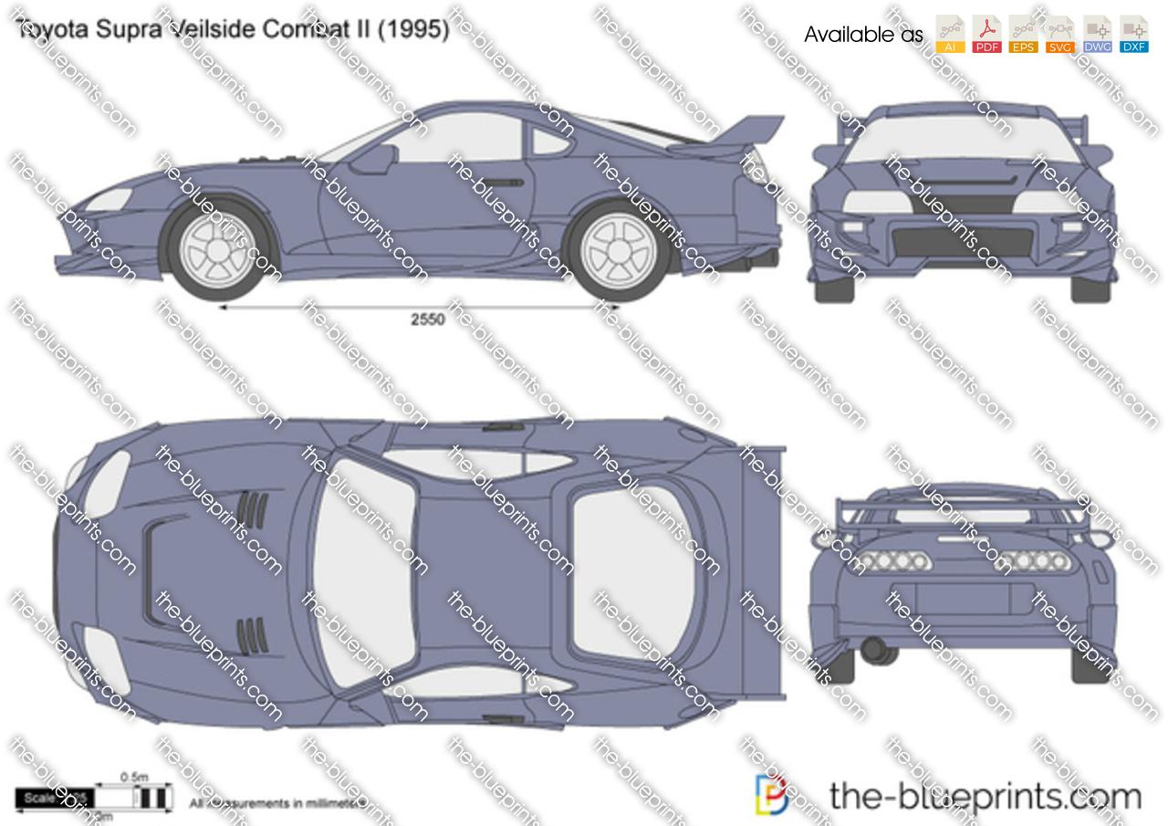 Toyota Supra Veilside Combat II 1996