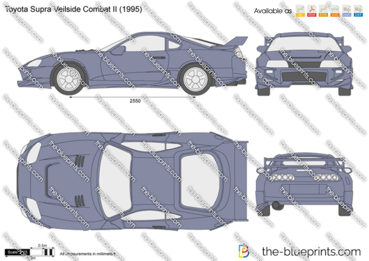Toyota Supra Veilside Combat II 1998