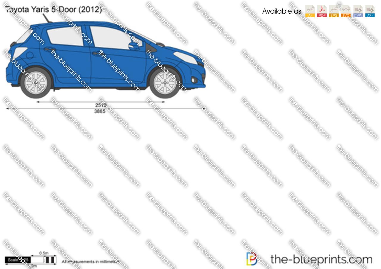 Toyota Yaris 5-Door 2013