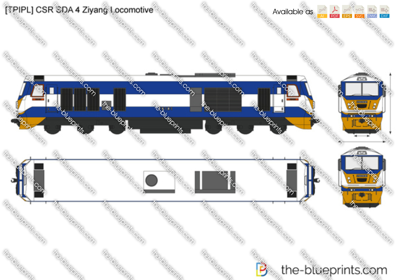 [TPIPL] CSR SDA 4 Ziyang Locomotive