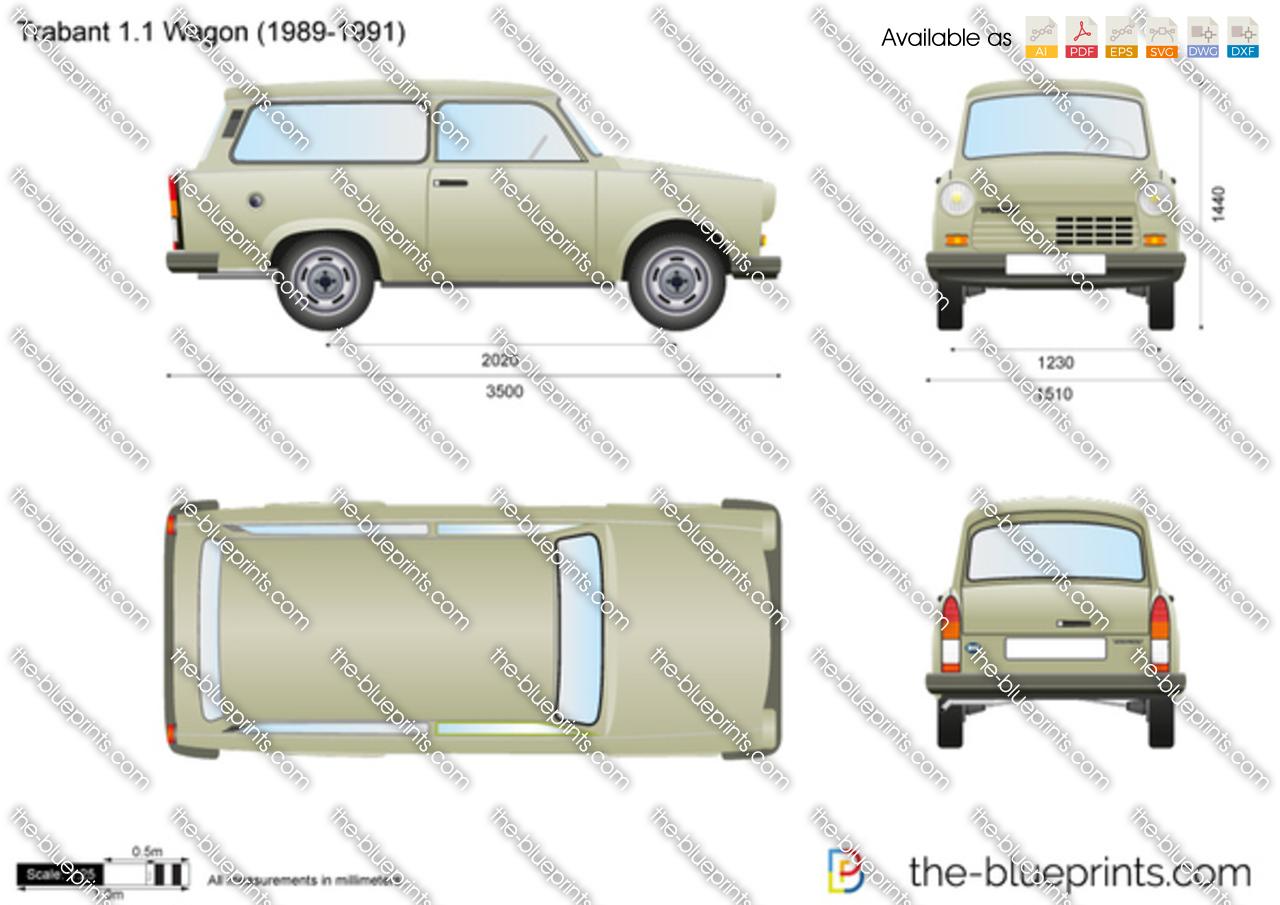 Trabant 1.1 Wagon