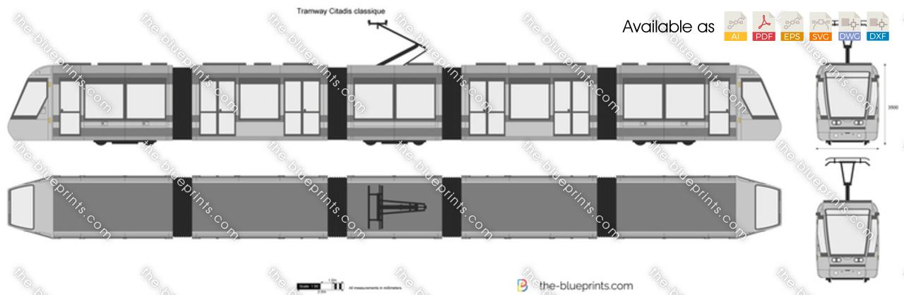 Tramway Citadis classique