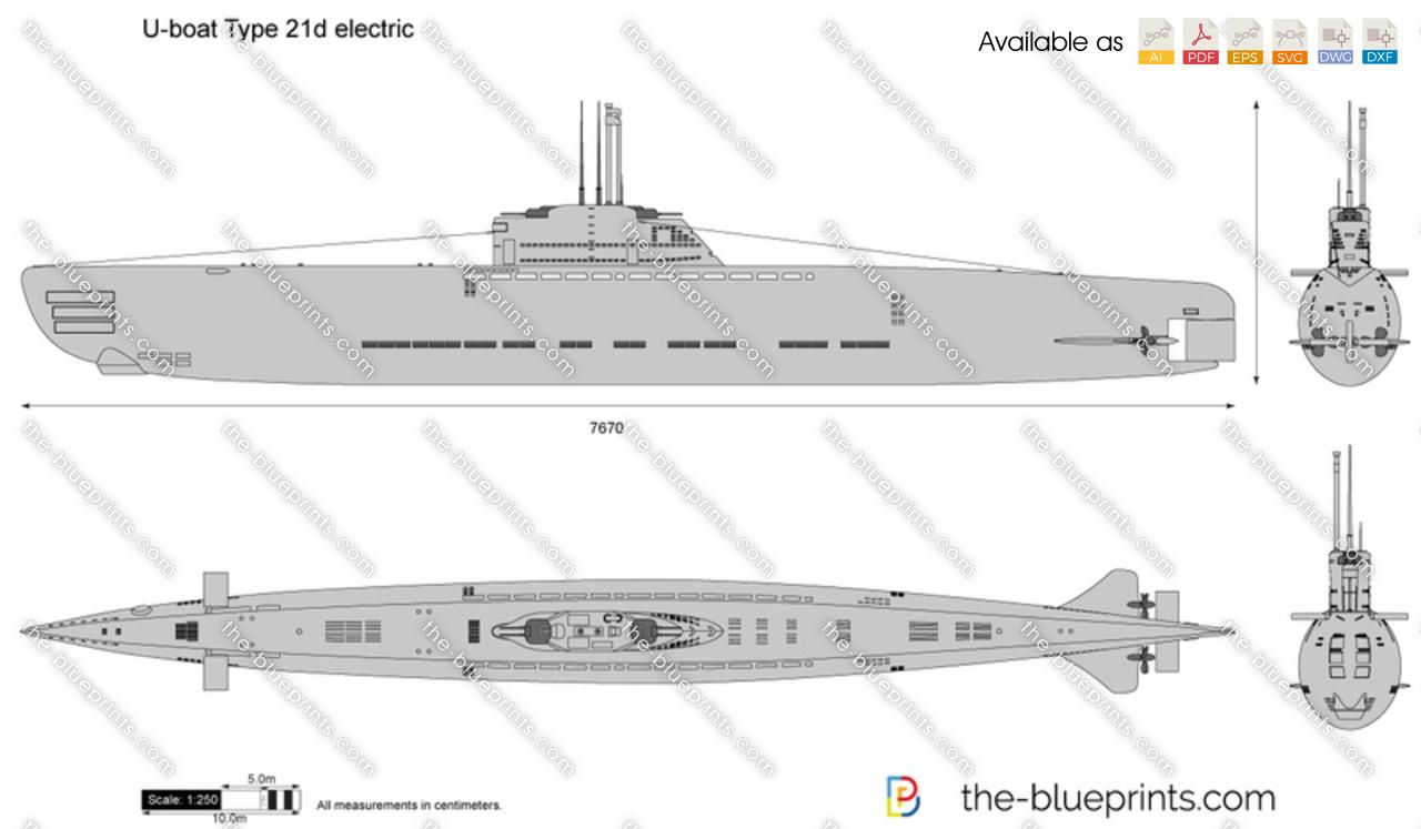 U-boat Type 21d electric
