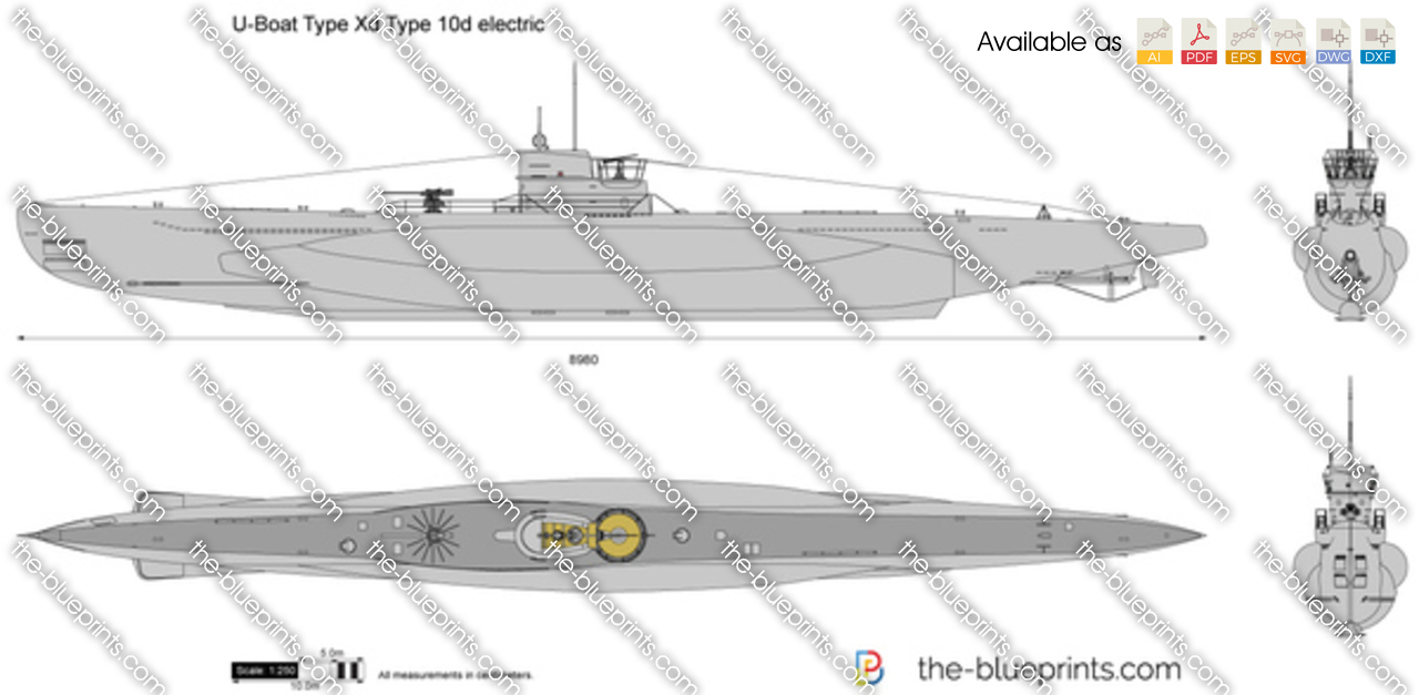 U-Boat Type Xd Type 10d electric
