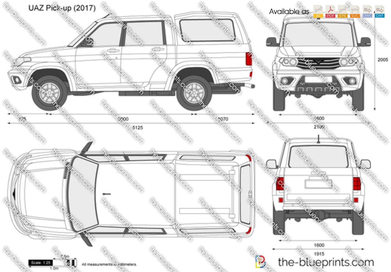 UAZ Pick-up
