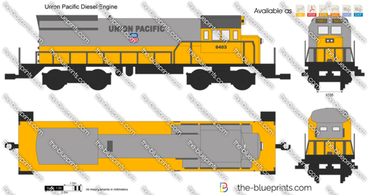 Union Pacific Diesel Engine