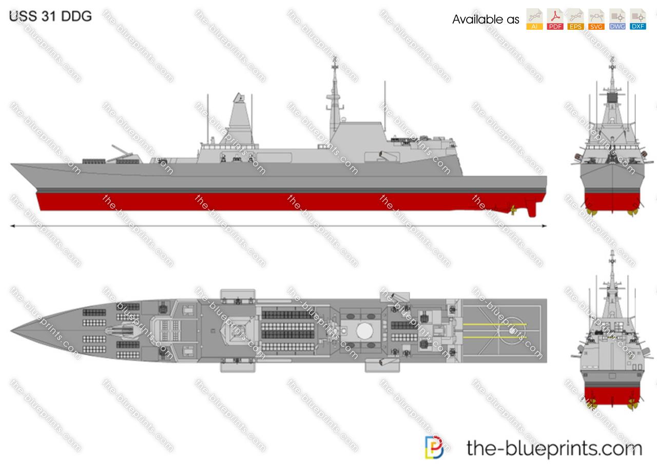 USS 31 DDG