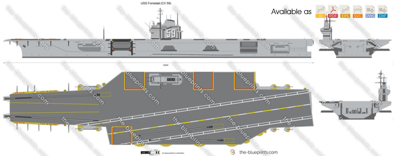 USS Forrestal (CV 59)
