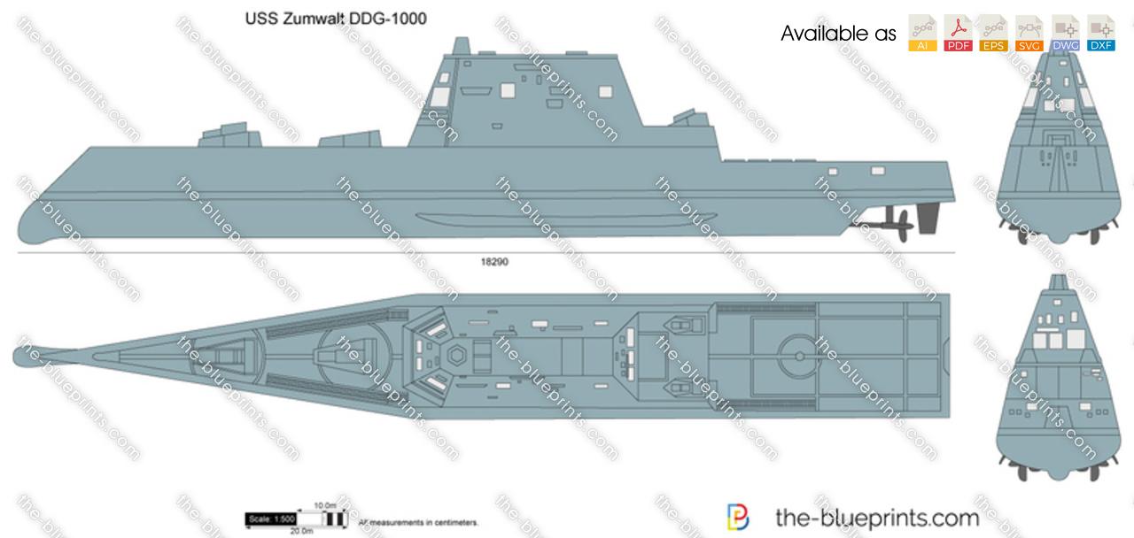 USS Zumwalt DDG-1000