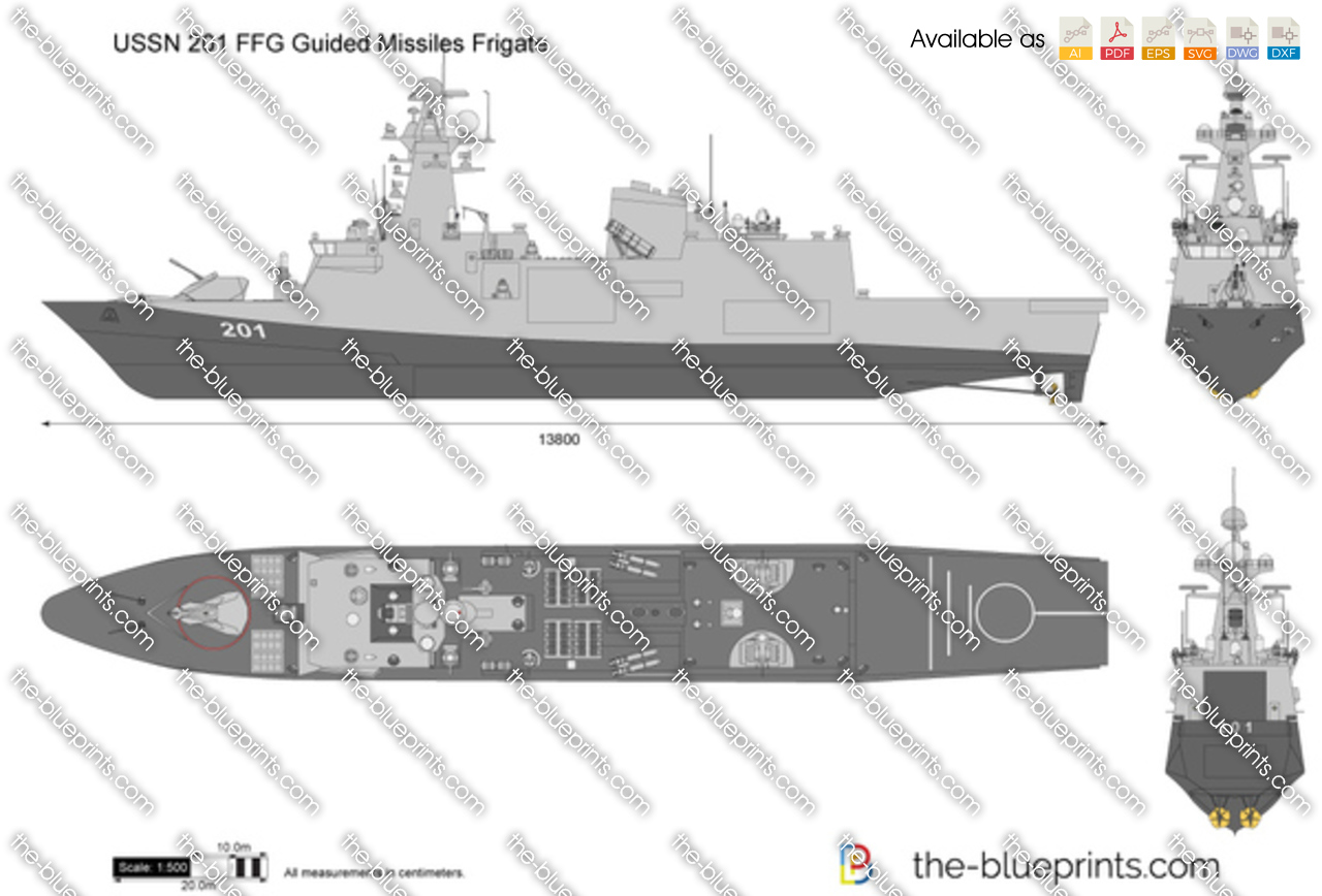 USSN 201 FFG Guided Missiles Frigate