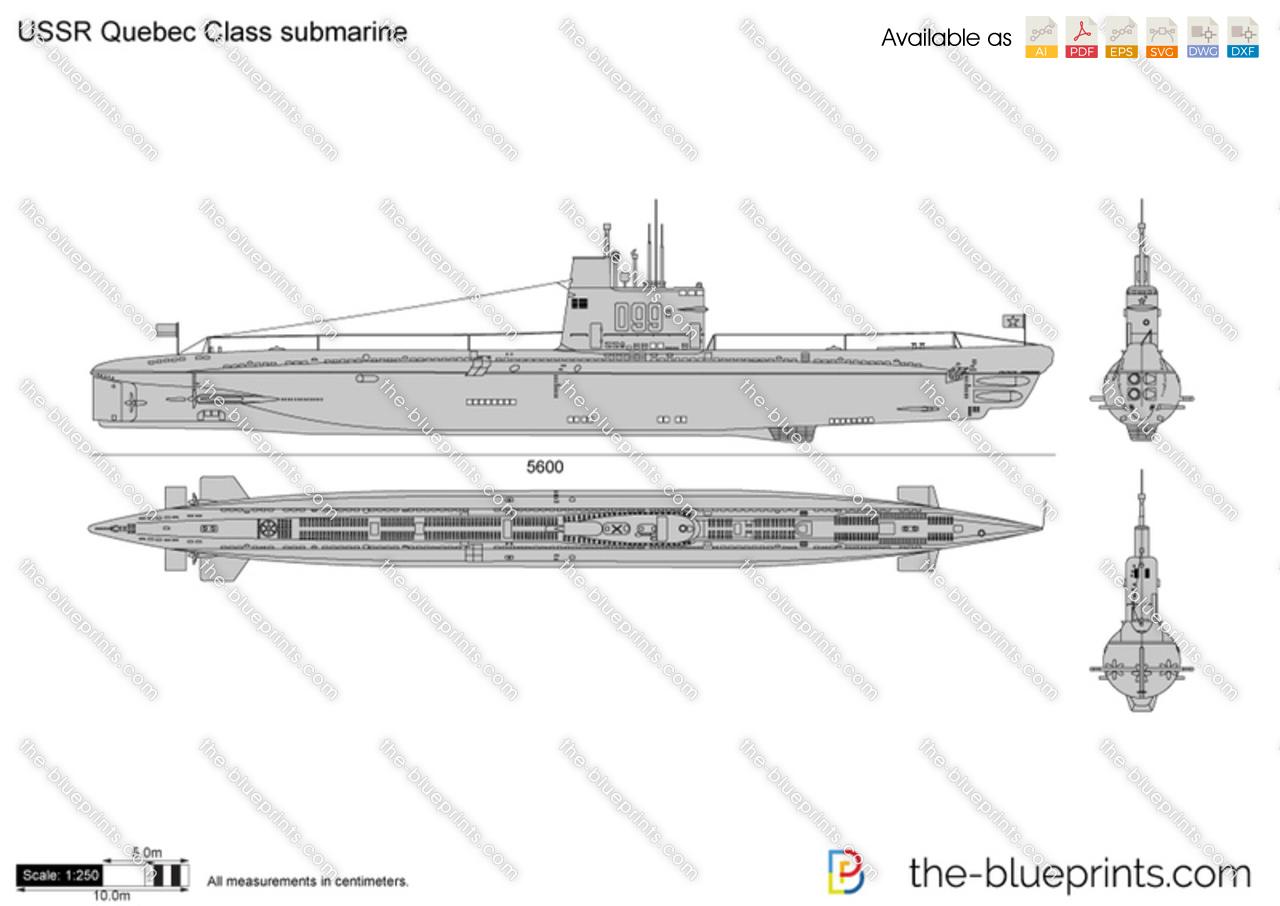 USSR Quebec Class submarine