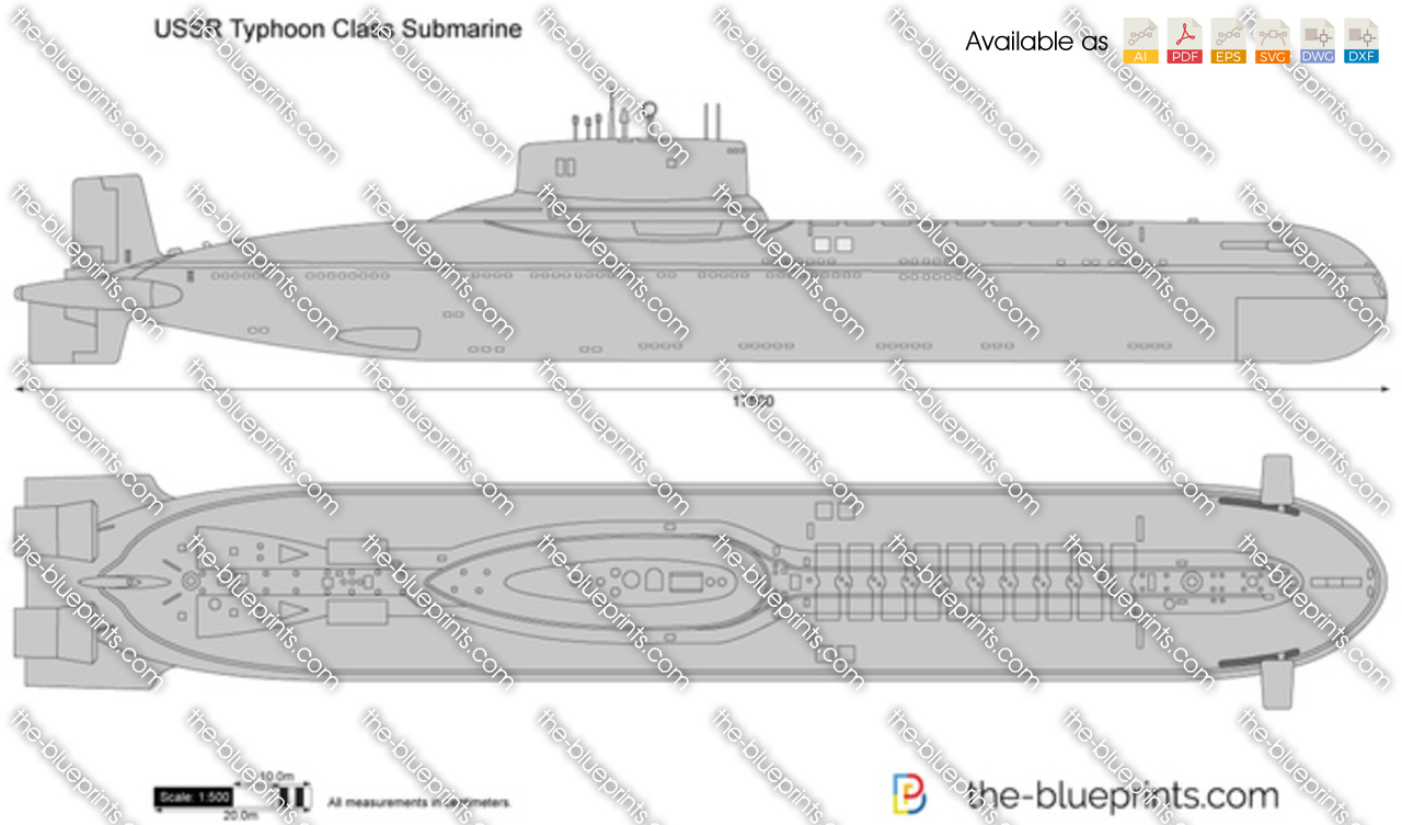 The blueprints blueprints ships submarines ussr ussr ussr project 941 akula typhoon class submarine pooptronica