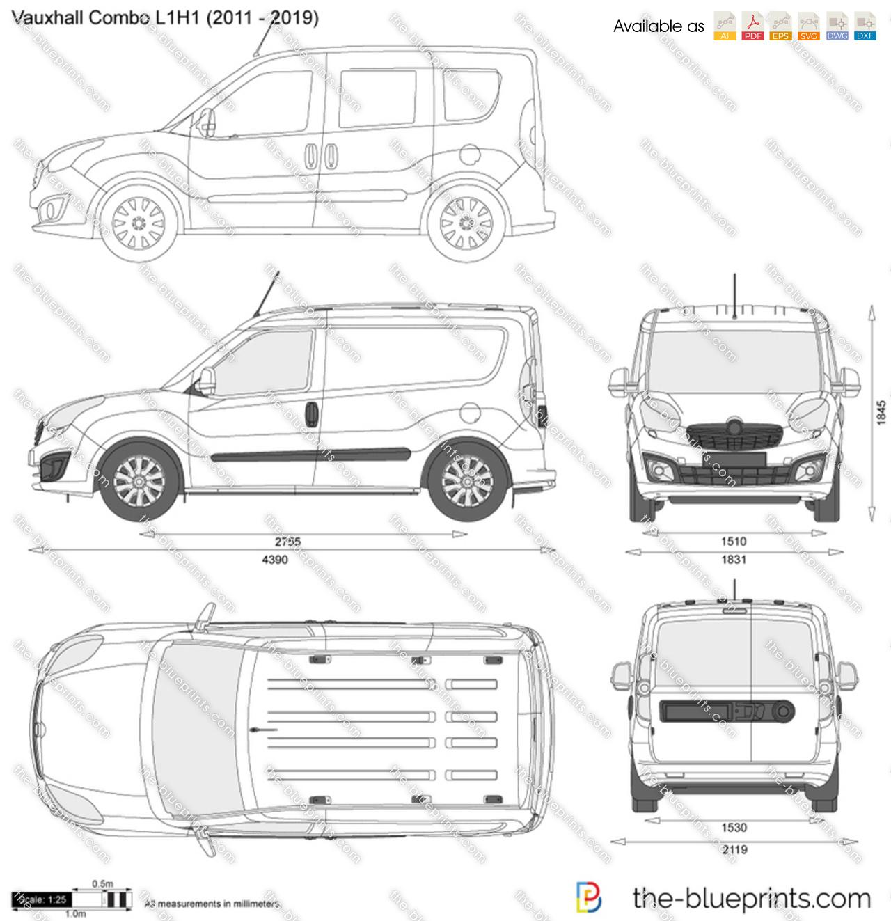 Vauxhall Combo L1H1