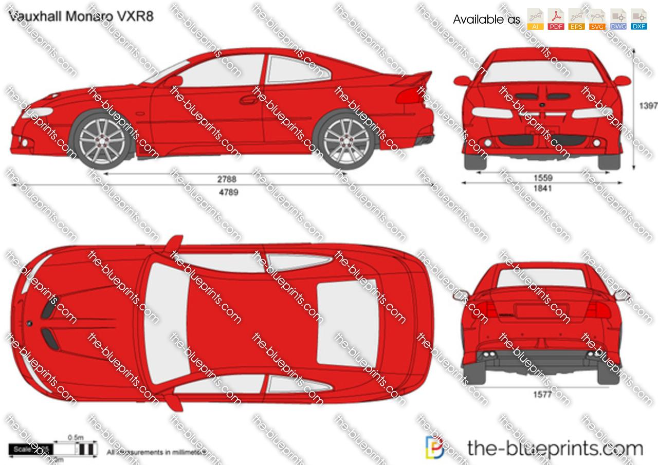 Vauxhall Monaro VXR8 2004