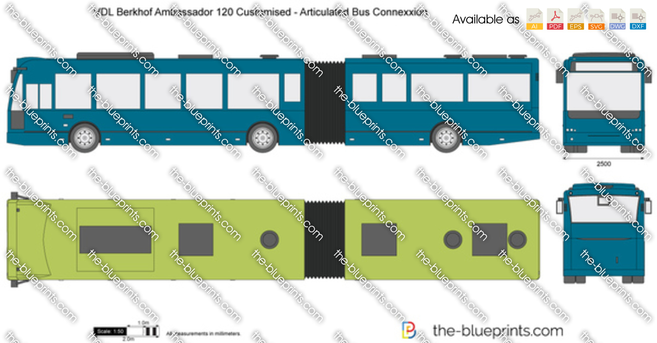VDL Berkhof Ambassador 120 Customised - Articulated Bus Connexxion