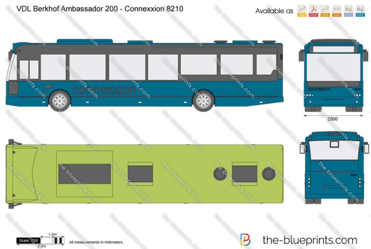 VDL Berkhof Ambassador 200 - Connexxion 8210