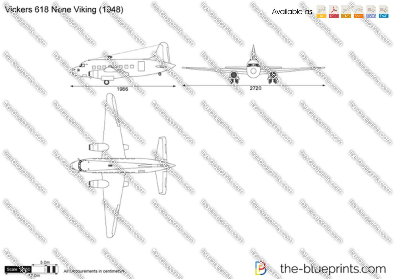 Vickers 618 Nene Viking