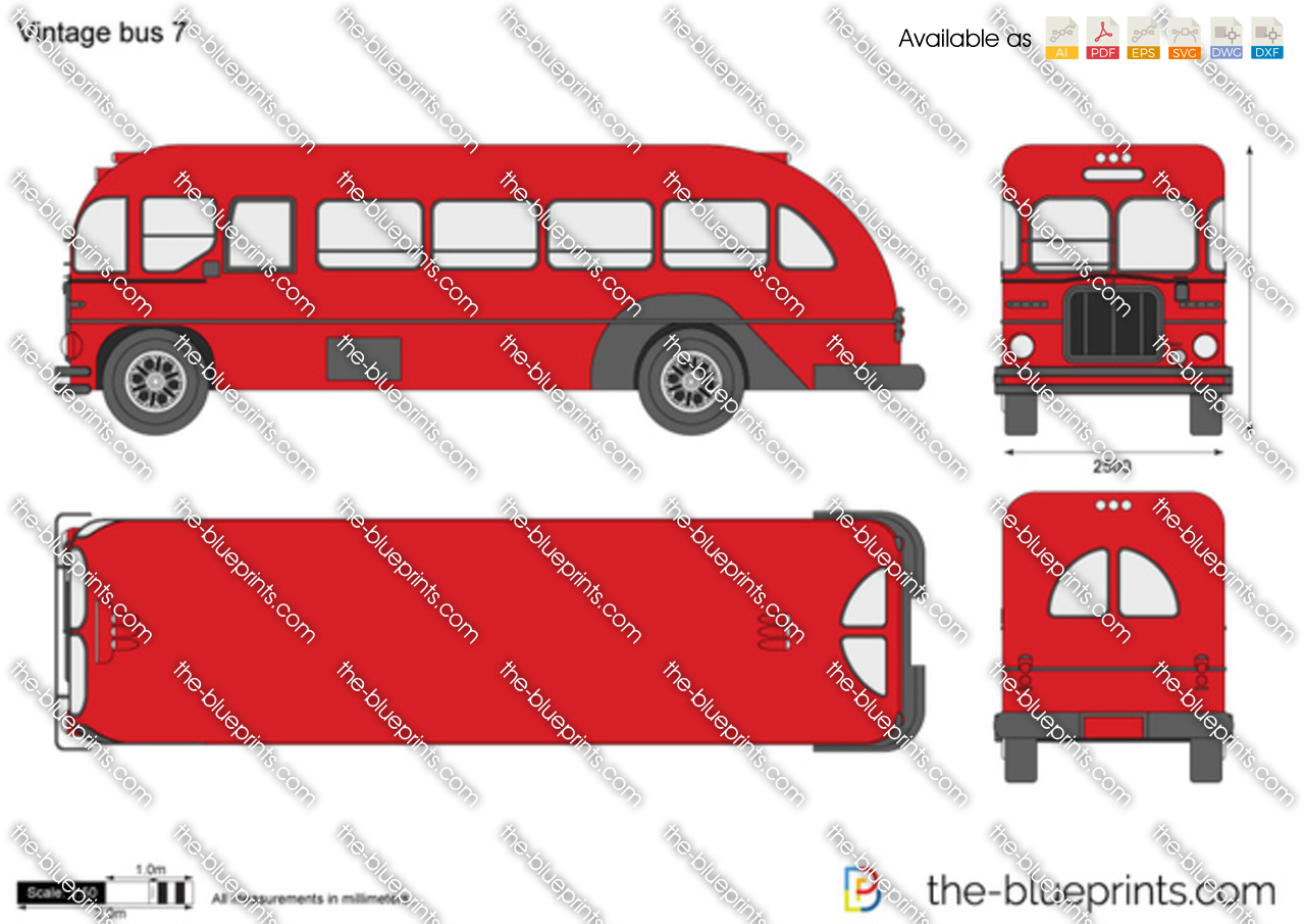 Vintage bus 7