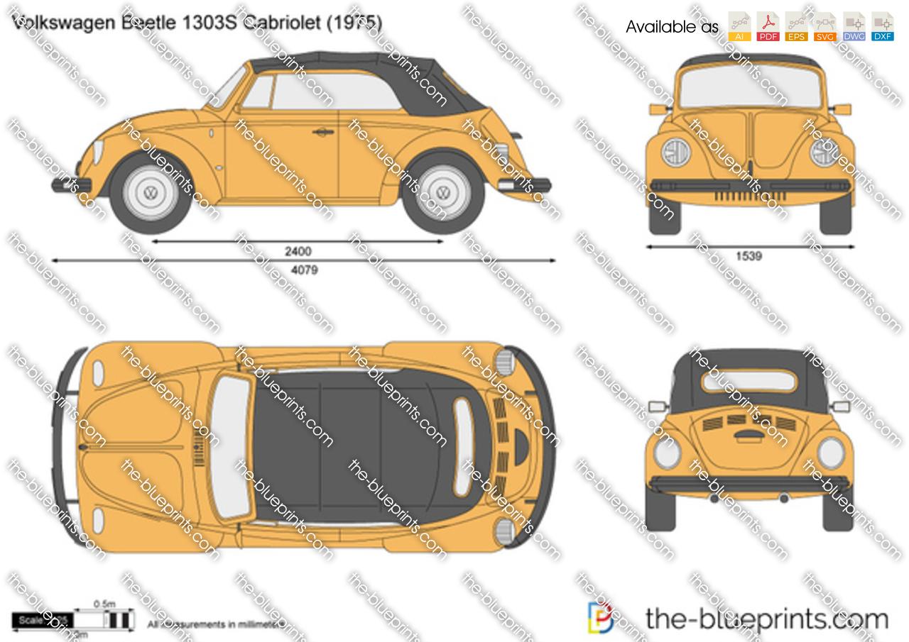 Volkswagen Beetle 1303S Cabriolet
