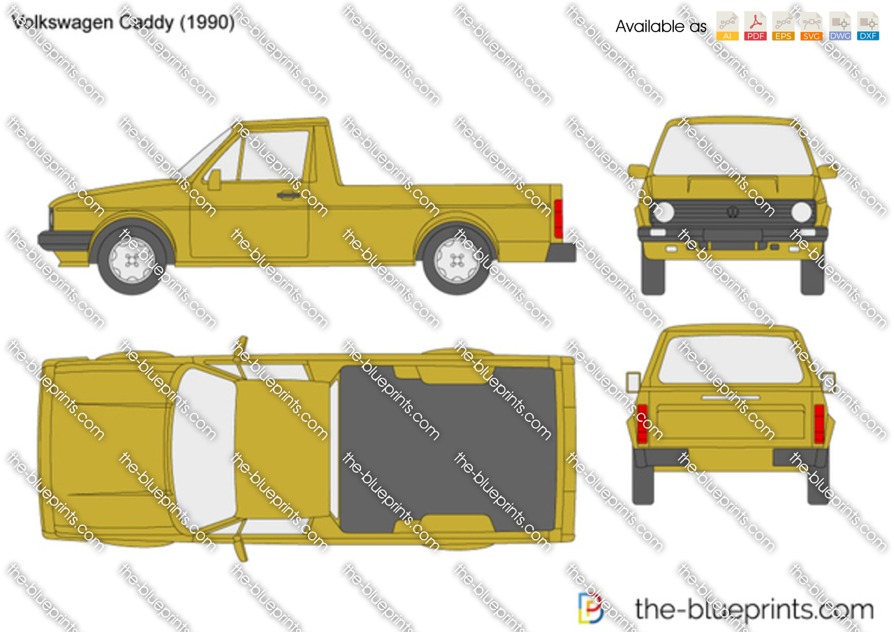 Volkswagen Caddy 1989