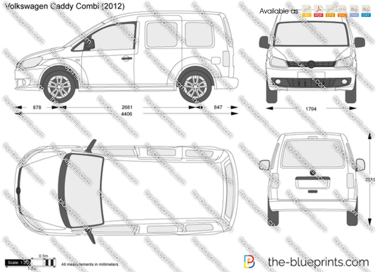 Volkswagen Caddy Combi 2012