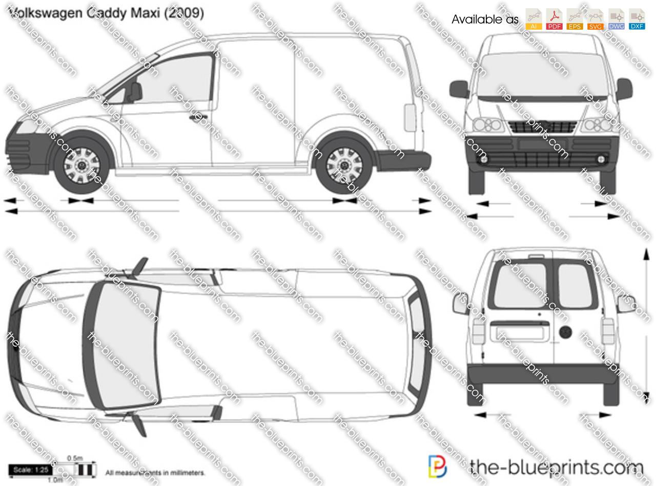 Volkswagen Caddy Panel Van Maxi