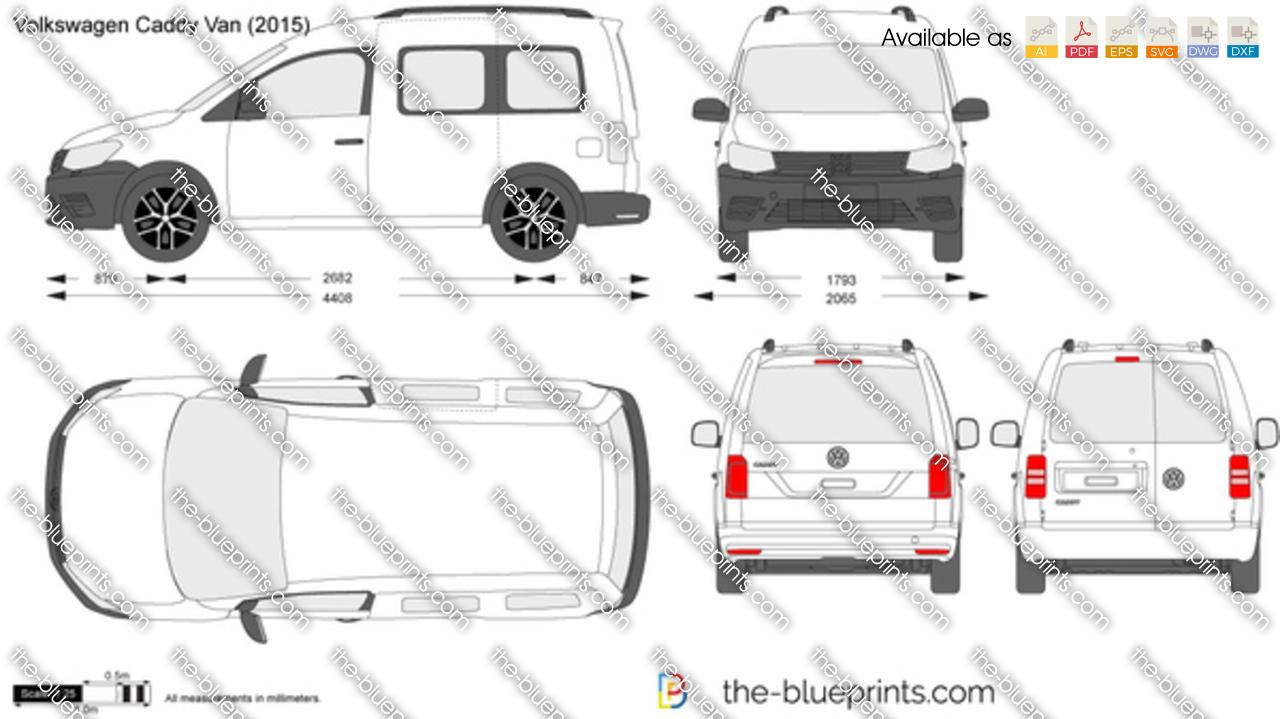 Volkswagen Caddy Van 2017