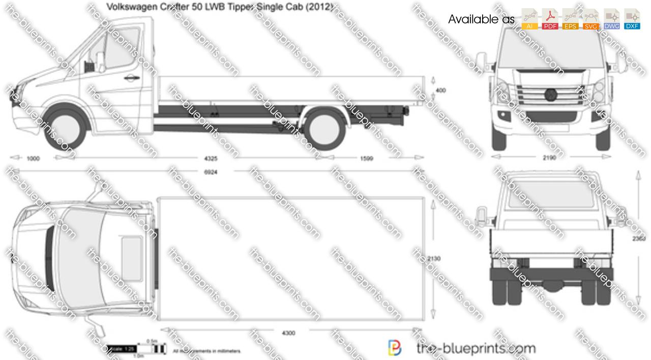 Volkswagen Crafter 50 LWB Tipper Single Cab