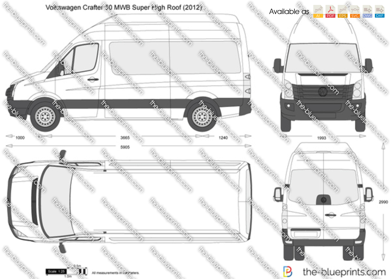 Volkswagen Crafter 50 MWB Super High Roof