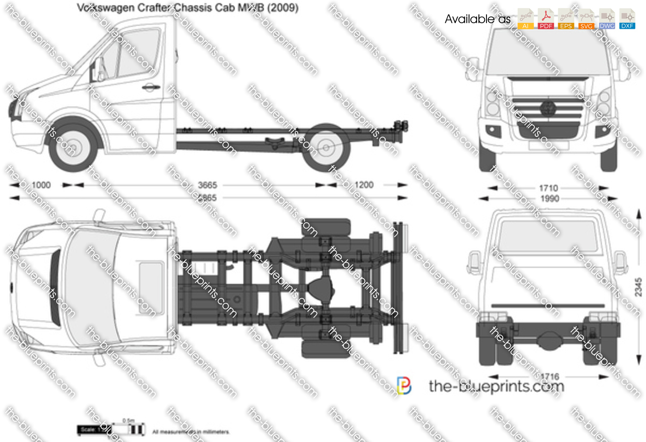 Volkswagen Crafter Chassis Cab MWB