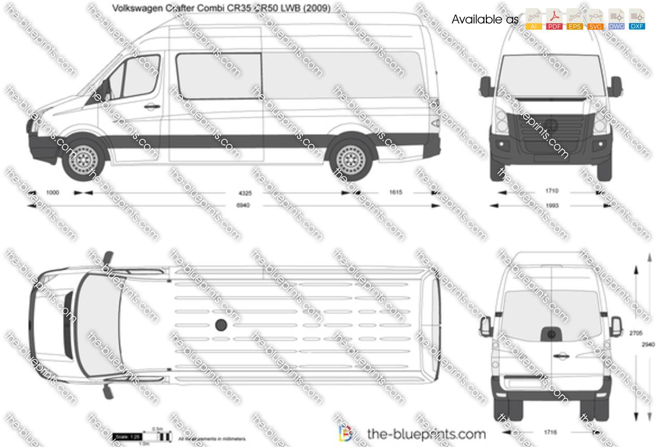 Volkswagen Crafter Combi CR35 CR50 LWB 2013