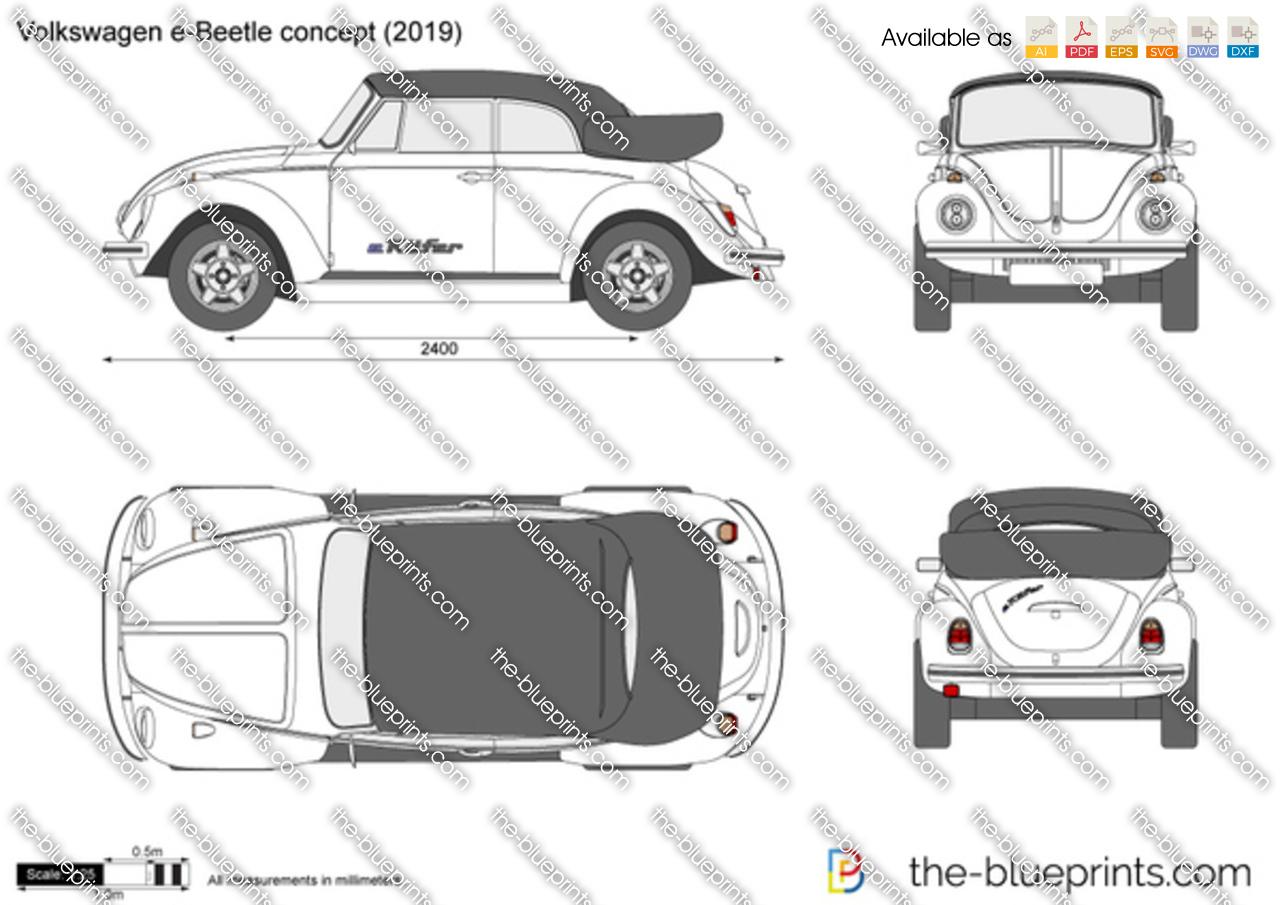 Volkswagen e-Beetle concept