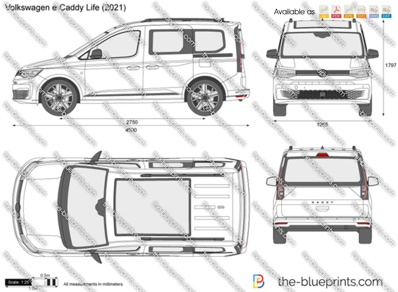 Volkswagen e-Caddy Life