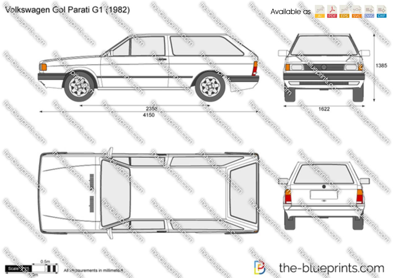 Volkswagen Gol Parati G1