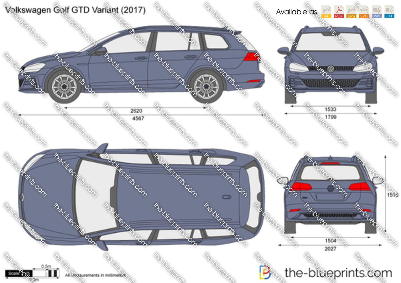 Volkswagen Golf GTD Variant VII