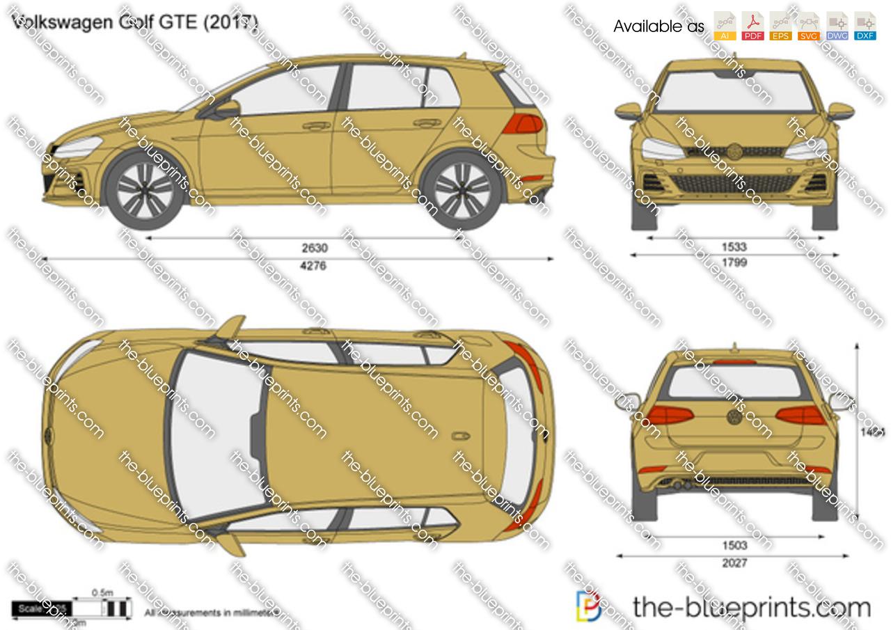 Volkswagen Golf GTE VII