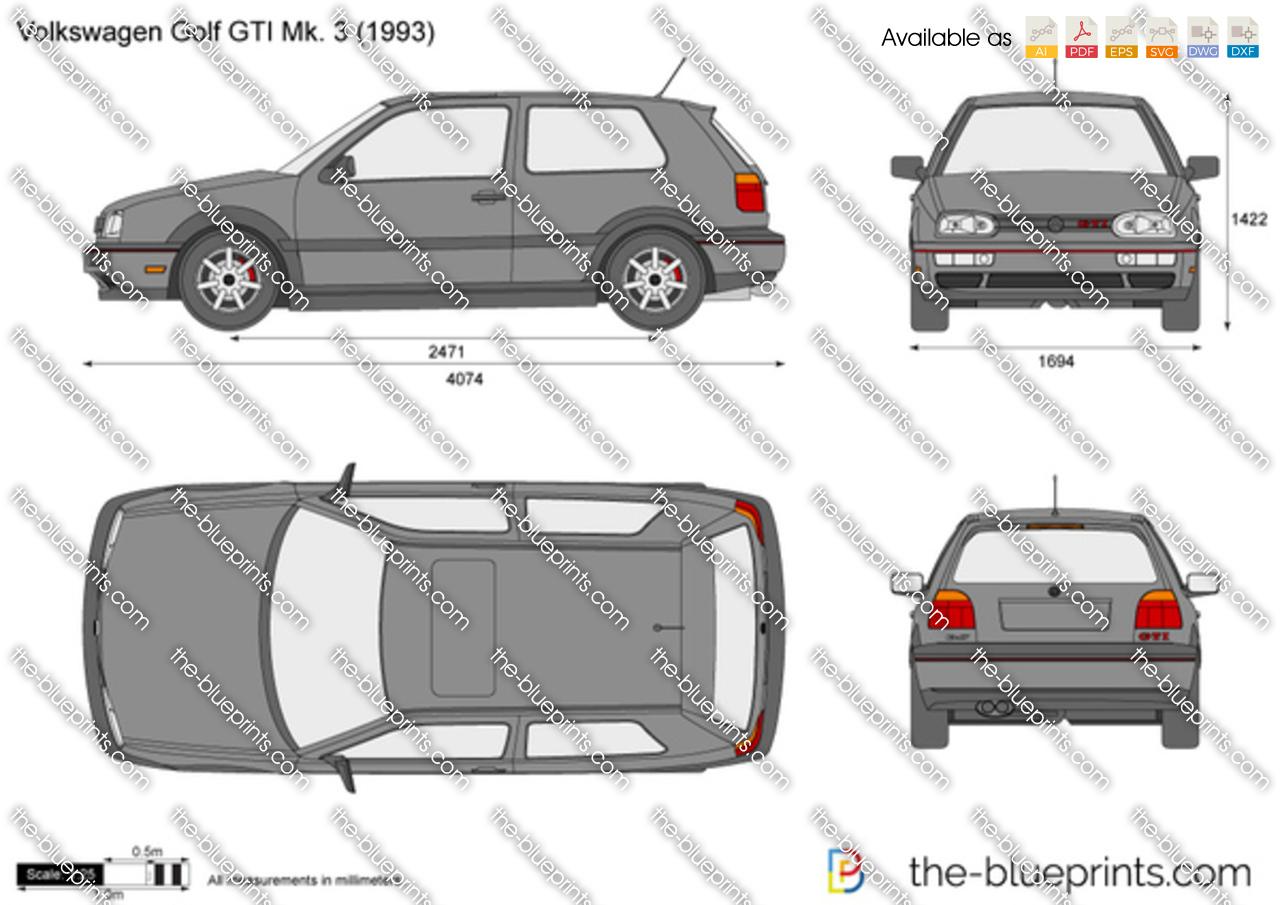 Volkswagen Golf GTI Mk. 3