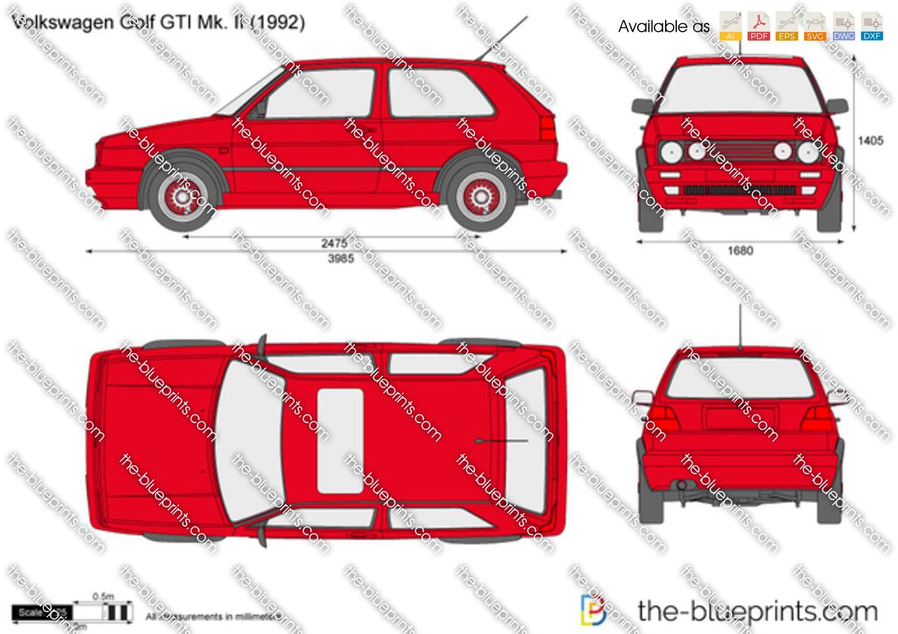 Volkswagen Golf GTI Mk. II