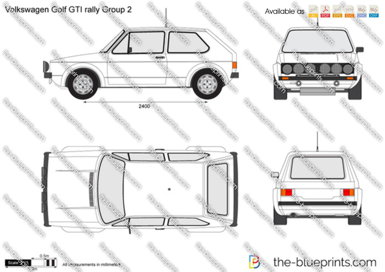 Volkswagen Golf GTI rally Group 2