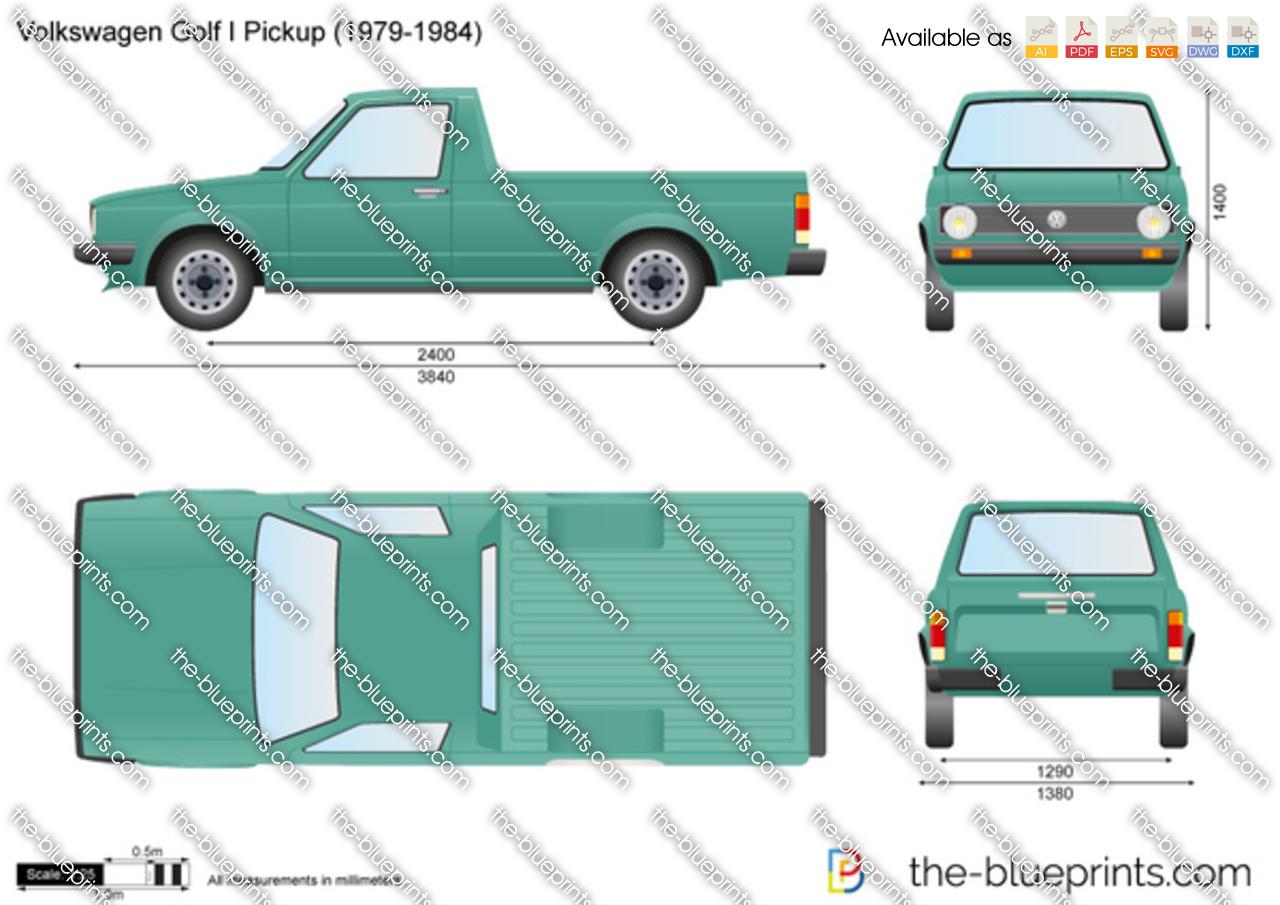 Volkswagen Golf I Pickup