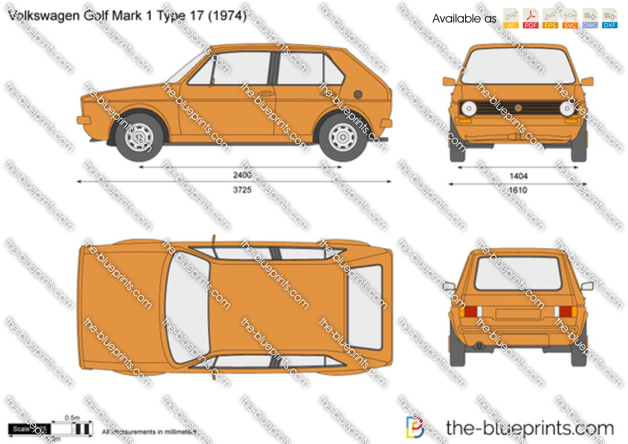 Volkswagen Golf Mark 1 Type 17 1975