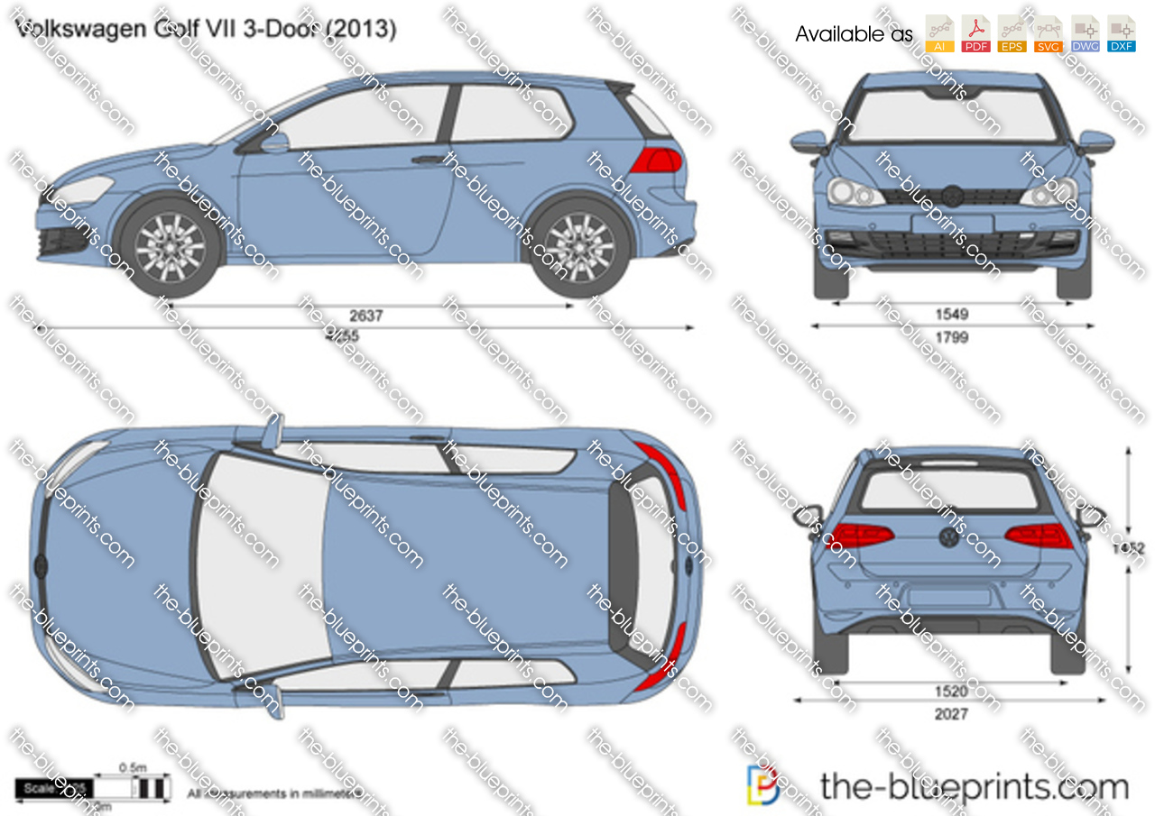 Volkswagen Golf VII 3-Door 2012