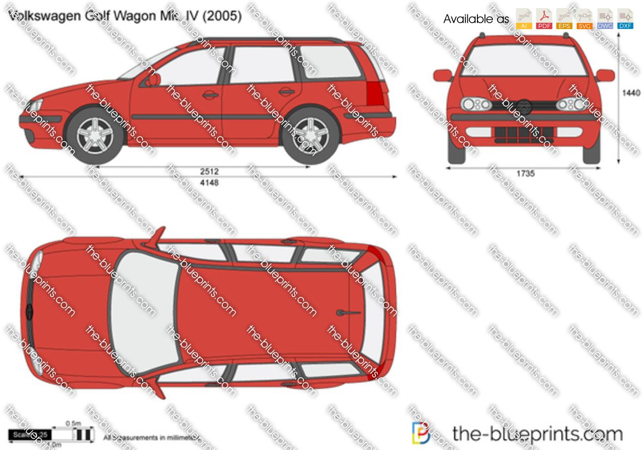 Volkswagen Golf Wagon Mk. IV 1998